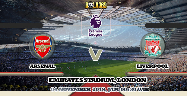 Prediksi Arsenal vs Liverpool 4 November 2018