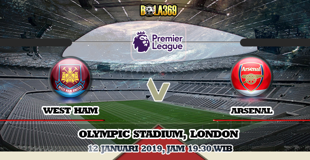 Prediksi Skor West Ham vs Arsenal 12 Januari 2019