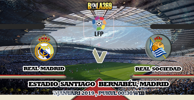 Prediksi skor Real Madrid vs Real Sociedad 07 Januari 2019