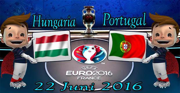 Prediksi Skor Hungaria VS Portugal 22 Juni 2016