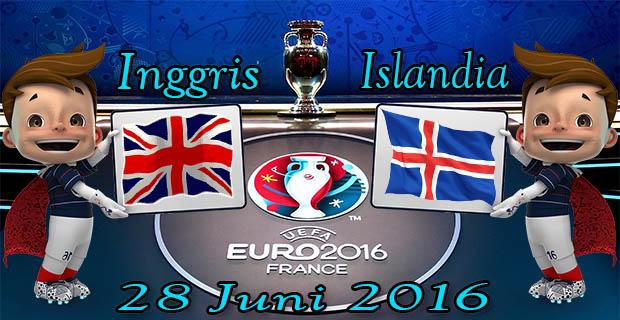 Prediksi Skor Inggris VS Islandia 28 Juni 2016