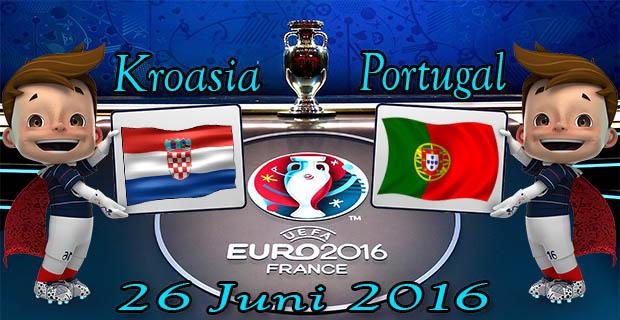 Prediksi Skor Kroasia VS Portugal 26 Juni 2016