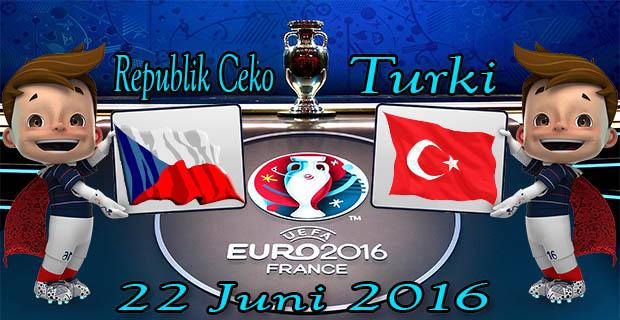 Prediksi Skor Republik Ceko VS Turki 22 Juni 2016