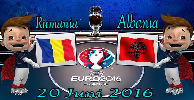Prediksi Skor Rumania VS Albania 20 Juni 2016