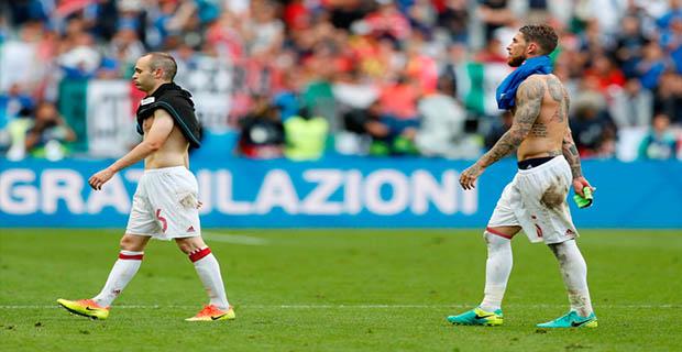 Iniesta Menggungkapkan Penyebab Kekalahan Spanyol Atas Italia i Piala Eropa 2016