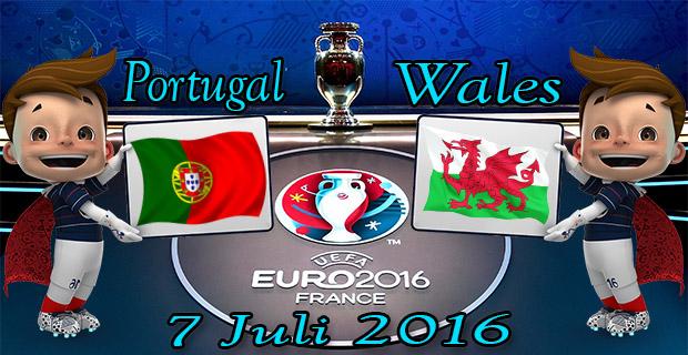 Prediksi Skor Portugal VS Wales 7 Juli 2016