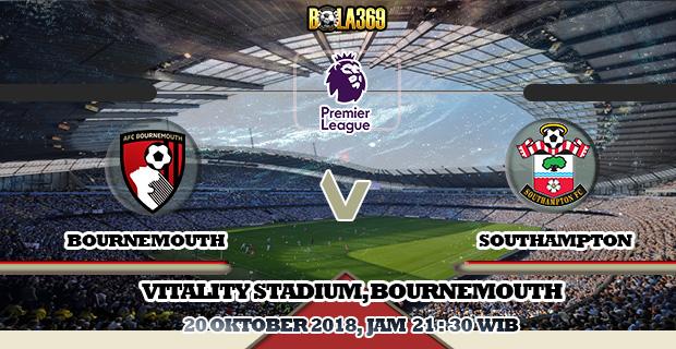 Prediksi skor Bournemouth Vs Southampton 20 Oktober 2018
