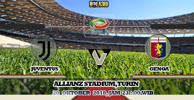 Prediksi skor Juventus Vs Genoa 20 Oktober 2018