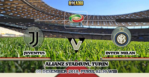 Prediksi Skor Juventus vs Inter pada tanggal 08 Desember 2018